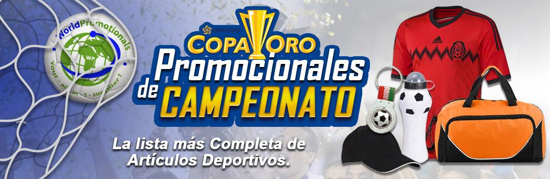 Promocionales Para Copa Oro