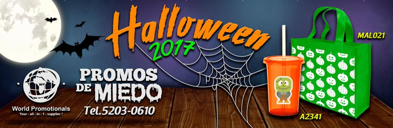 Promocionales Para para Halloween 2017