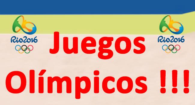 Promocionales Juegos Olimpicos
