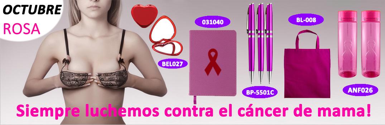 Promocionales Rosas Cancer de Mama