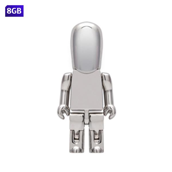 USB people met�lica. Capacidad de 8 GB.