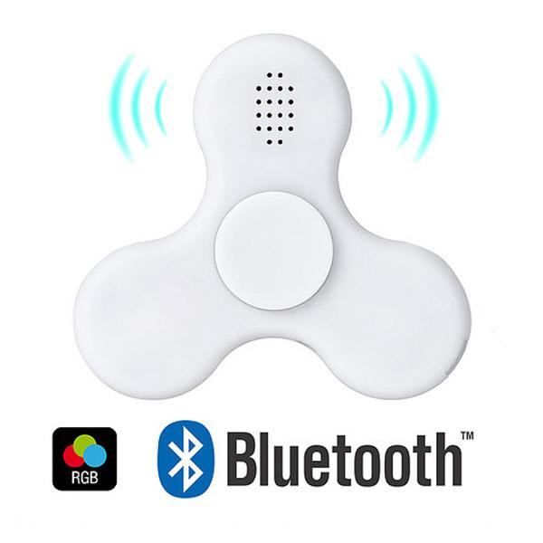 FIDGET SPINNER Cuenta con conexión bluetooth e iluminación