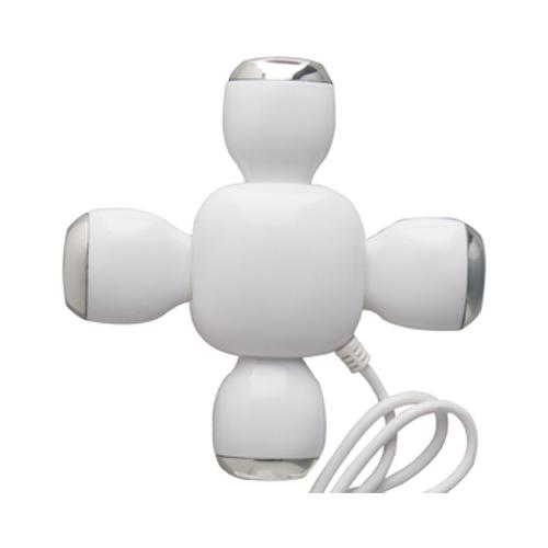 HUB MULTIPUERTO PARA USB EN FORMA DE CRUZ