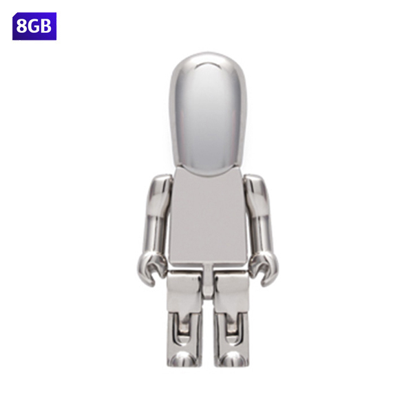 USB people met�lica. Capacidad de 8 GB.