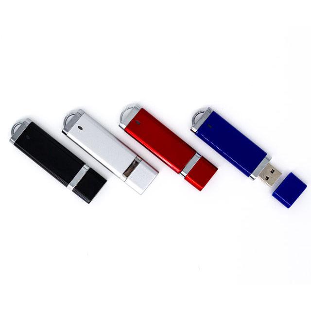 USB Luxury 16GB con tapa y cordón.