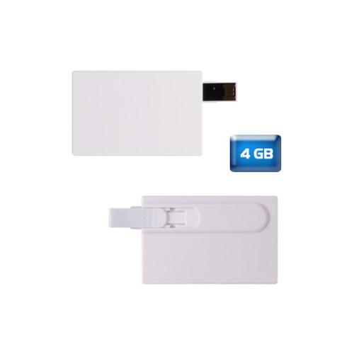 Memoria USB Tarjeta con 4 GB.