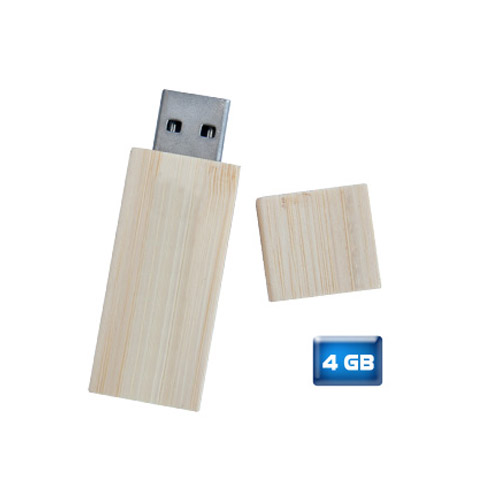 MEMORIA USB BAMBOO DE 4GB.