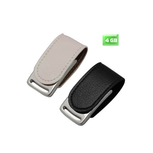 USB Clip Piel 4 GB.
