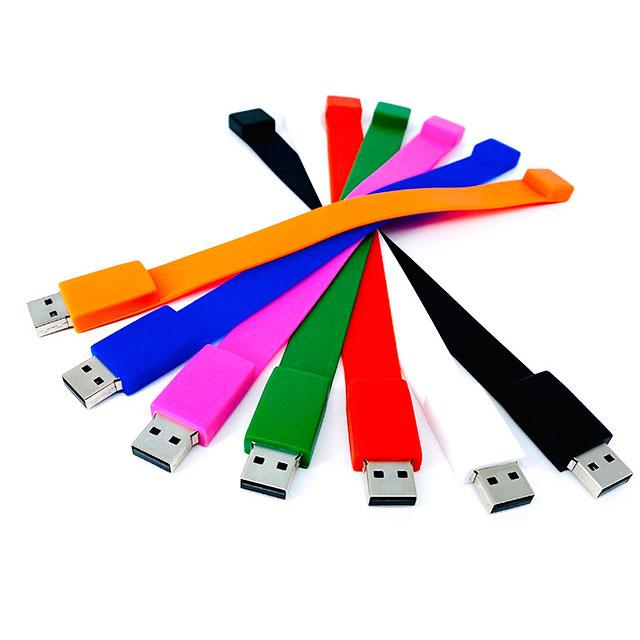 USB Pulsera de Silic�n 8gb de capacidad.