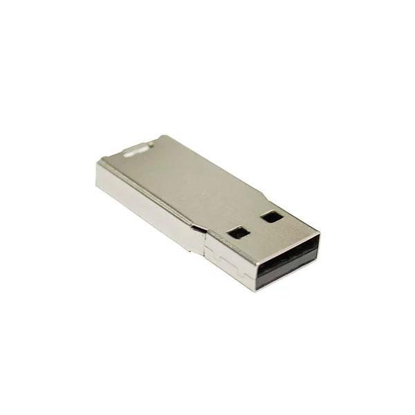 MEMORIA CON ARMAZON METALICA 4GB PARA PROYECTOS EN PVC