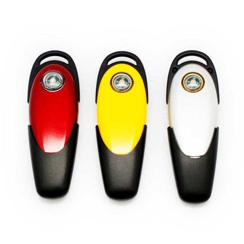 Memoria USB de Plastico con brujula, tapa.