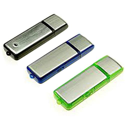 Memoria USB de Plastico con tapa y luz.