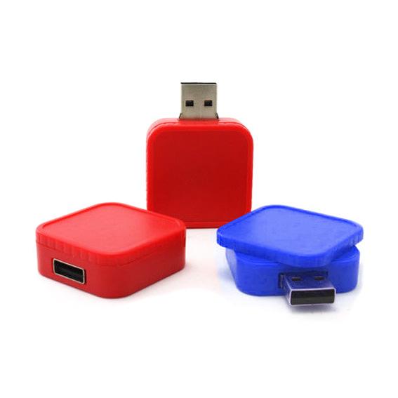 Memoria USB deslizable de Plastico.