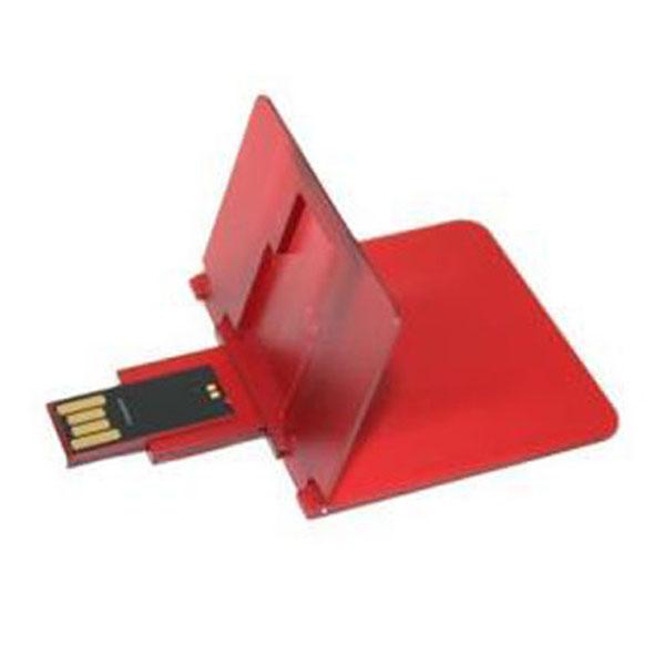Memoria USB de tarjeta con sistema de doblado.